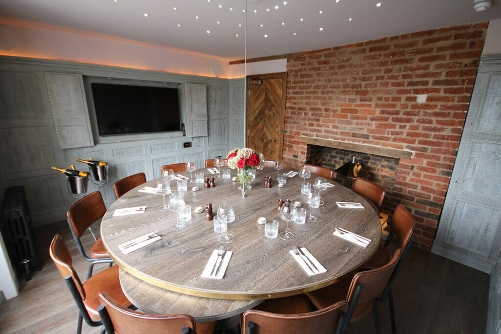 Private Dining at Becketts Southsea
